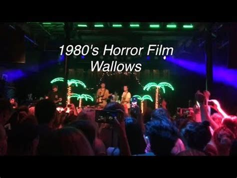 ghost film song youtube new wallows song quot 1980 s horror film quot youtube
