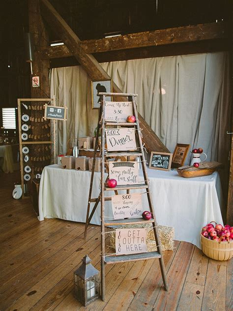 ideas   rustic barn wedding
