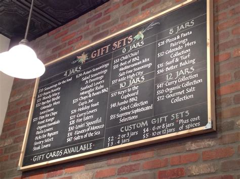 menu for large wood crates with chalk boards autos post
