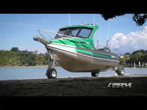 boat with wheels video profile boats video 635h alloy aluminium plate fishing