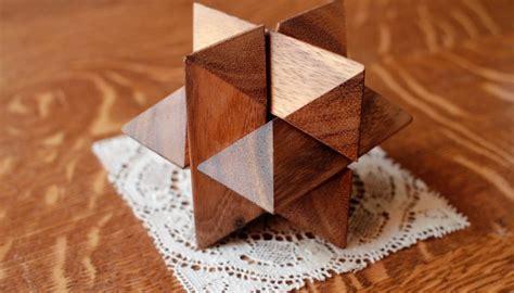 solve   piece wooden  puzzle star  pastimes