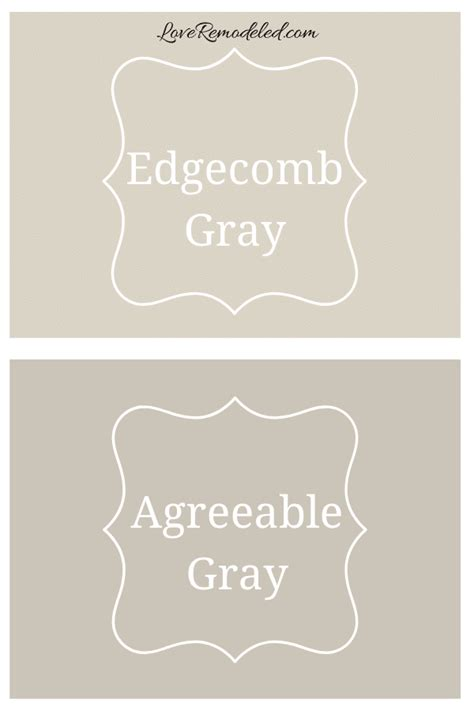 benjamin moore edgecomb gray paint color love remodeled