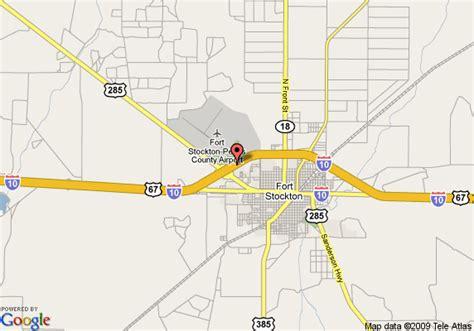 stockton texas map map of hton inn fort stockton tx fort stockton