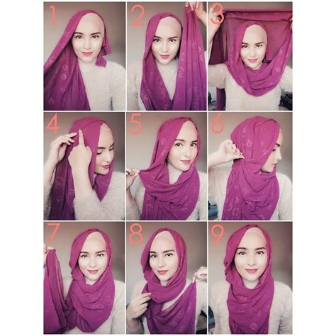 gambar tutorial hijab layer hijab style hijab tutorial