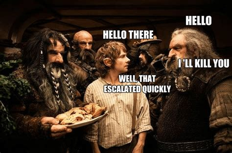 The Hobbit Meme - hobbit unexpected journey memes