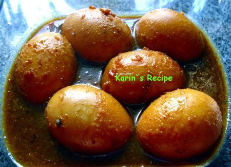 Kecap Asin karin s recipe telur kecap braised soy sauce eggs