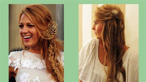 gossip girl hairstyles youtube blake lively frisur frisuren freitag lovethecosmetics