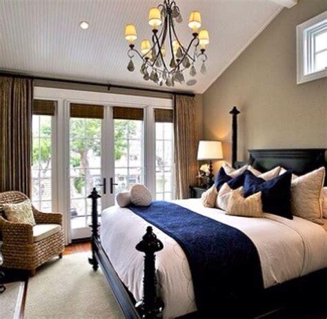 brown beige bedroom navy blue and beige bedroom but with lighter brown bed