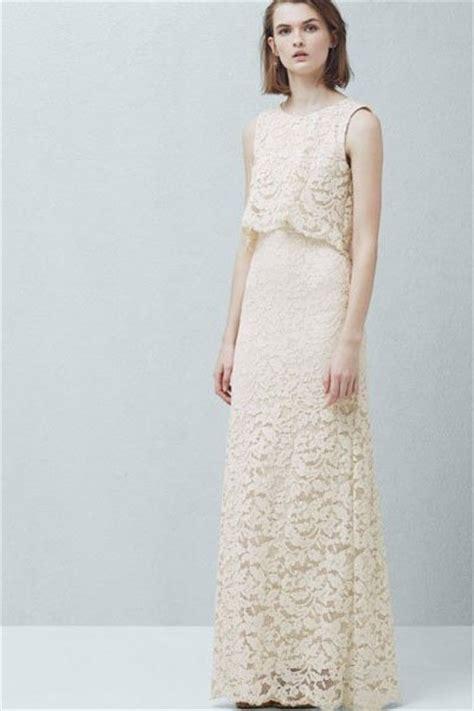 Hochzeitskleider Gã Nstig by Hochzeitskleider G 252 Nstig Doppellagiges Kleid Mango
