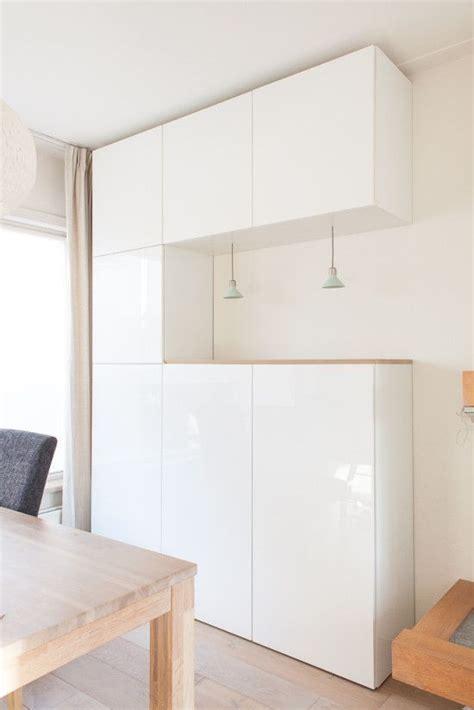 Ikea Bureau Plank by Houten Plank Op Ikea Besta Kasten Dining Room