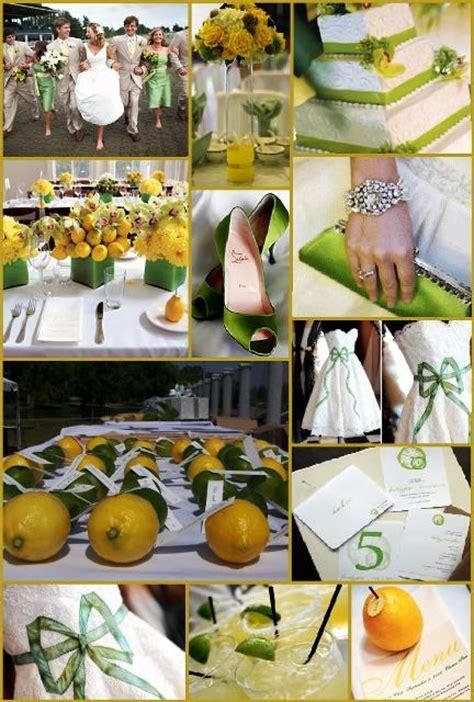 wedding blogs lemon lime inspiration