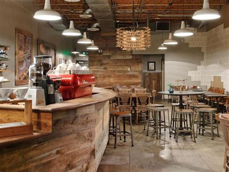 Seattle's 15th Ave Coffee and Tea House Is a Rustic Eco