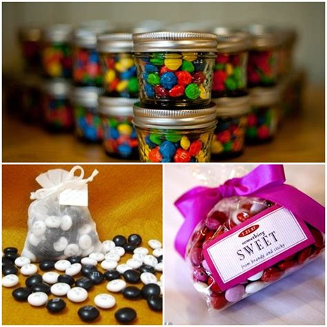 Cheap Favors Ideas by Creative And Cheap Wedding Favor Ideas Wedding And