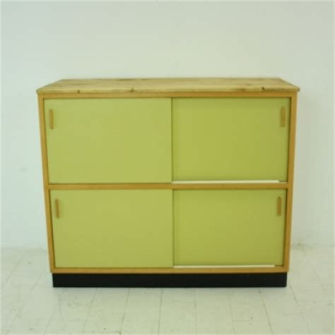 Yellow Buffet Cabinet 1960s Kandya Kitchen Cabinet Sideboard In Yellow Lovely