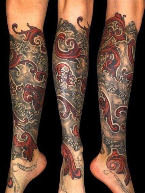 lower leg sleeve tattoos for men 1000 ideas about lower leg tattoos on leg