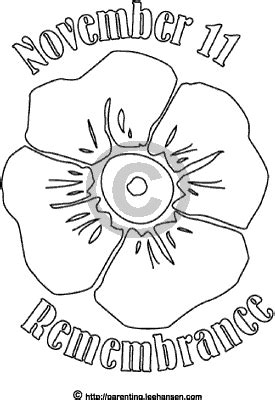 remembrance day poppy poster remembrance day colouring