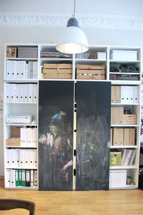 chalk paint on mdf 15 best images about besta book storage on