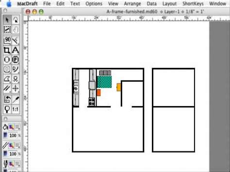floor plan for mac macdraft fast and easy floor plans for the mac youtube