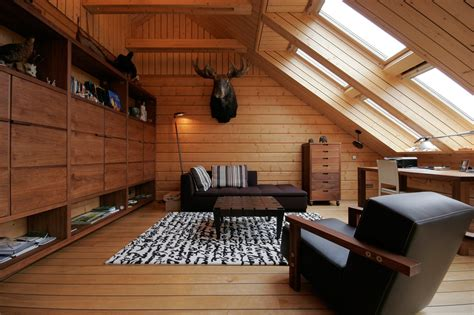 illuminare mansarda mansarda effetto legno cose di casa