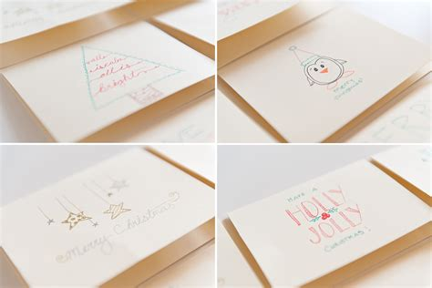 Easy Gift Card - easy diy christmas cards christmas lights card and decore