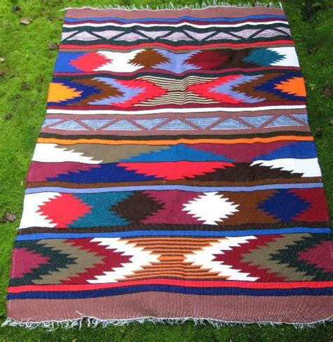 cheap mexican rugs vintage mexican indian southwestern blanket rug ram
