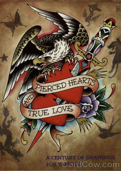pierced hearts tattoo pierced hearts and true don ed hardy pop ed