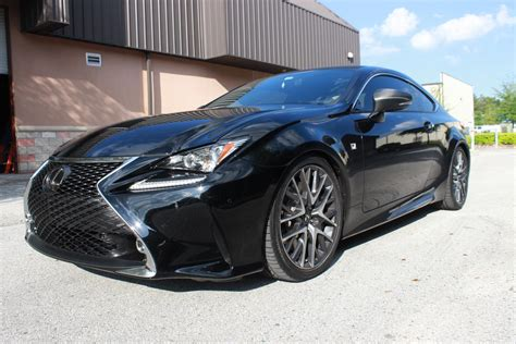 lexus rcf lowered first rc 350 f sport on coilover kit lexus rc350