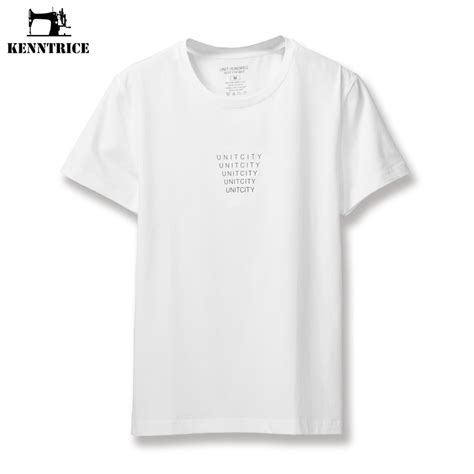 Kaos T Shirt 3second Best Cuality aliexpress buy kenntrice mens plain tshirts cotton casual mens t shirts top quality