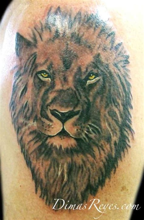 black and grey lion tattoos realistic black and grey tattoos