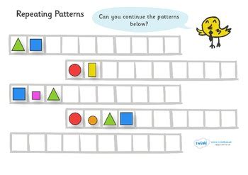repeating patterns with 2 colours 4 worksheet activities repeating pattern worksheets by twinkl printable resources