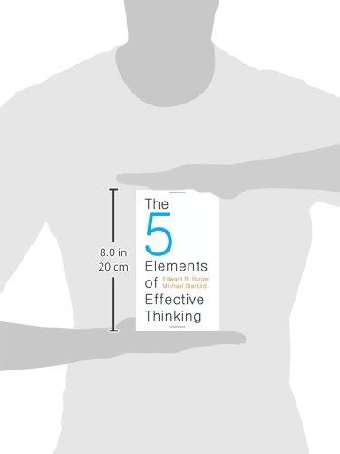 the 5 elements of 0691156662 libro the 5 elements of effective thinking di edward b burger michael starbird