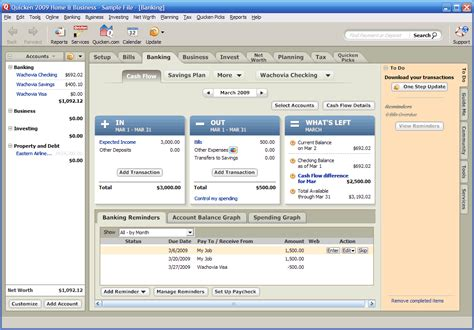 quicken home and business 2009 review and giveaway