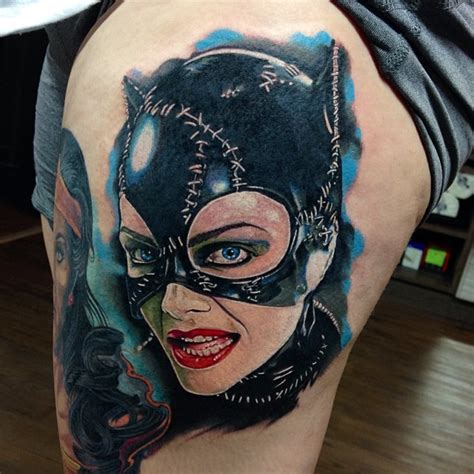 catwoman tattoo chronic ink toronto shop toronto piercing