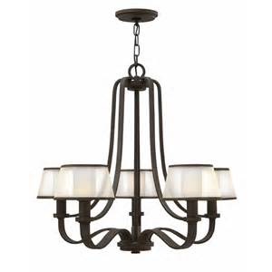 prescott lights buy the prescott 5 light chandelier by hinkley lighting