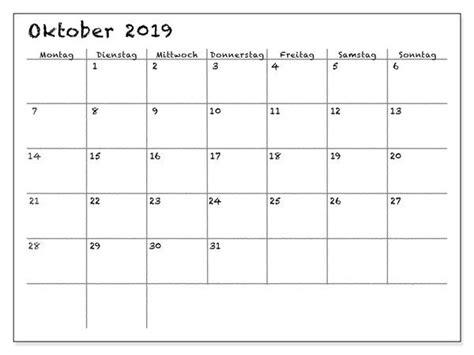 kalender oktober  monatlich zum ausdrucken kalender zum ausdrucken kalender august