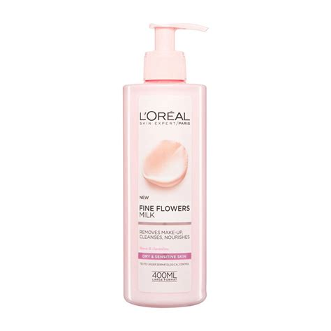 L Oreal Cleansing Milk l oreal flowers cleansing milk rejuvage