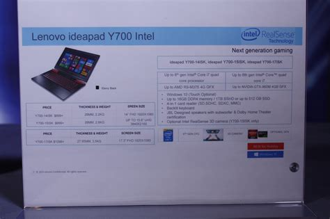 Lenovo Y700 Amd lenovo has a high end amd gaming laptop in the works nag
