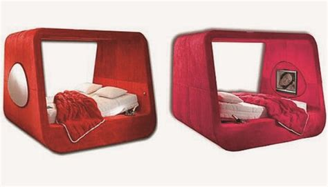 Covered Beds by Karim Rashid S Sphere Bed Is A Pod After Own 3rings