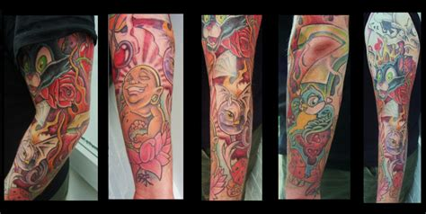 new skool sleeve by chrisxart on deviantart