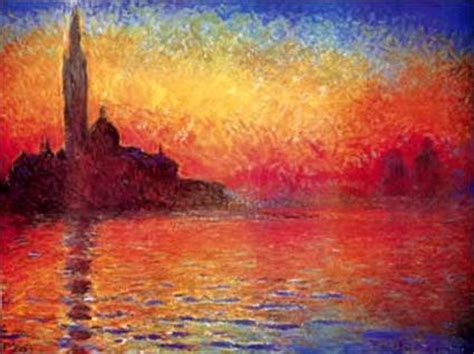 painting twilight venice twilight by claude monet artinthepicture