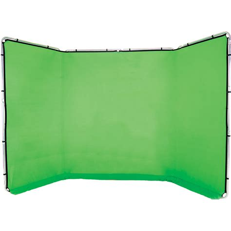 chroma key lastolite panoramic background 13 chromakey green ll