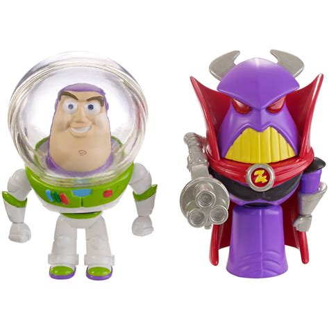 Figure Story Disney Pixar disney pixar story 4 quot figure buzz zurg 2 pack at