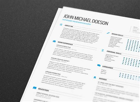 Resume Template Fernando Baez Zip by 25 Free Resume Cv Templates To Help You Get The