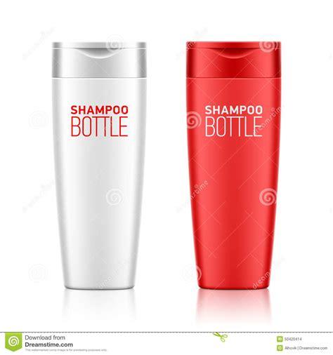 bottle design template shoo bottle template stock vector image 50420414