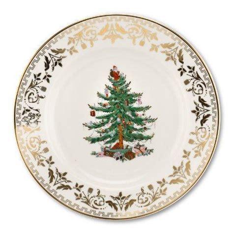 spode christmas tree gold dinner plate set of 4 new ebay