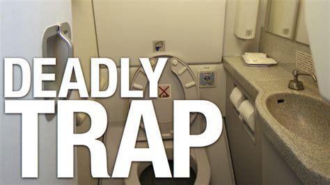 accidentally locked bathroom door airplane bathrooms gizmodo uk