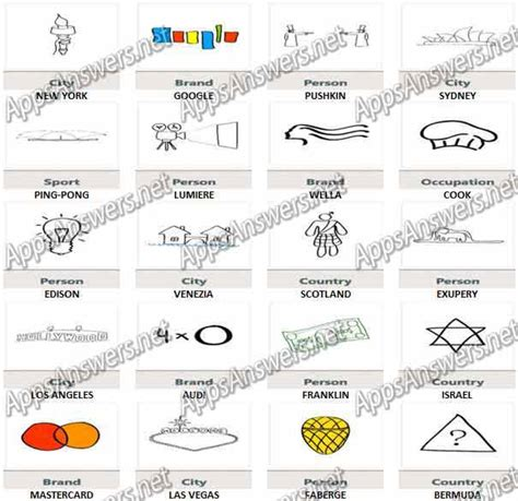 doodle answer guess doodles level 61 level 80 answers apps answers net