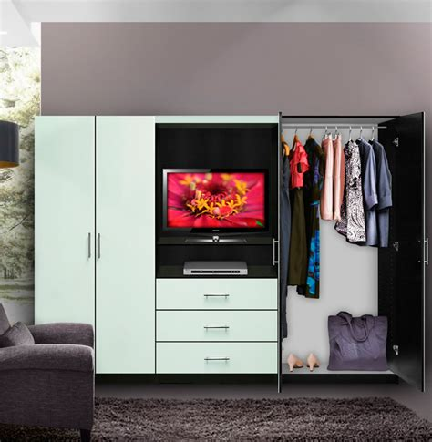 aventa bedroom wall unit tv unit w drawers and doors