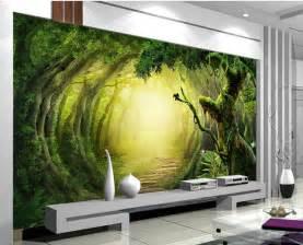 Fantasy Wall Murals non woven wallpaper 3d fantasy forest trail mural
