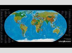 Domain-Weltkarte gratis - Quincy's World! United Domains